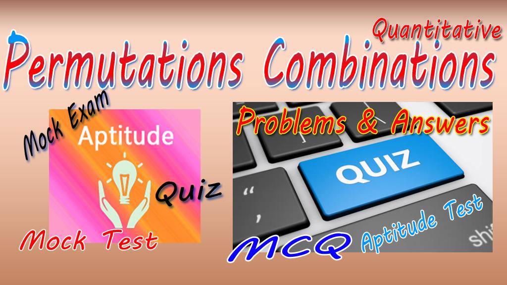 Permutations-Combinations