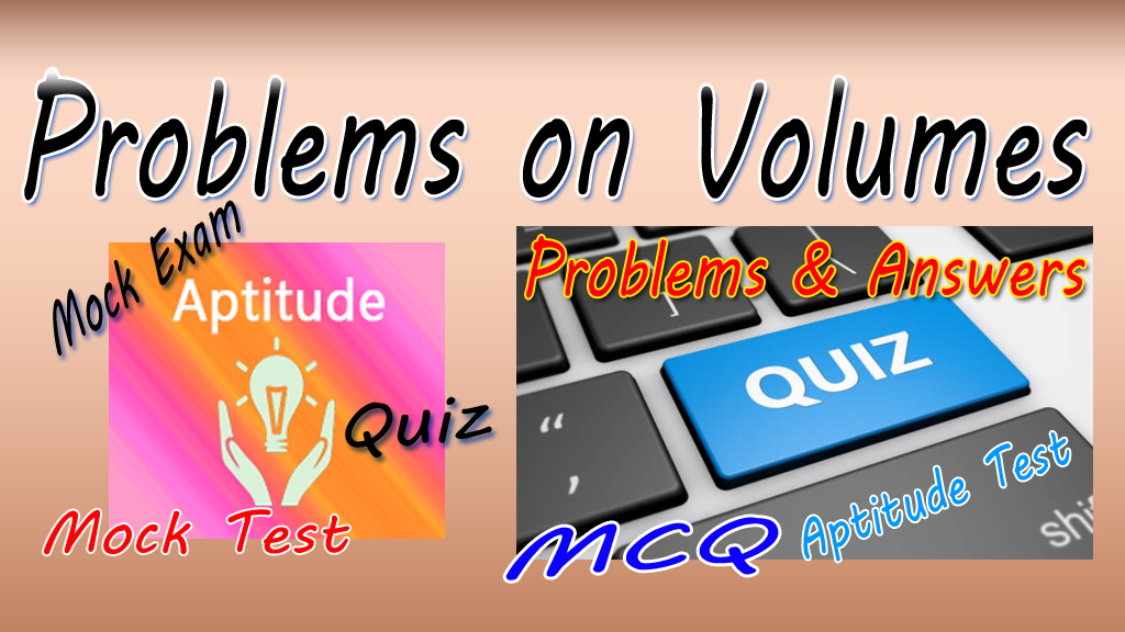 Problems on Volumes