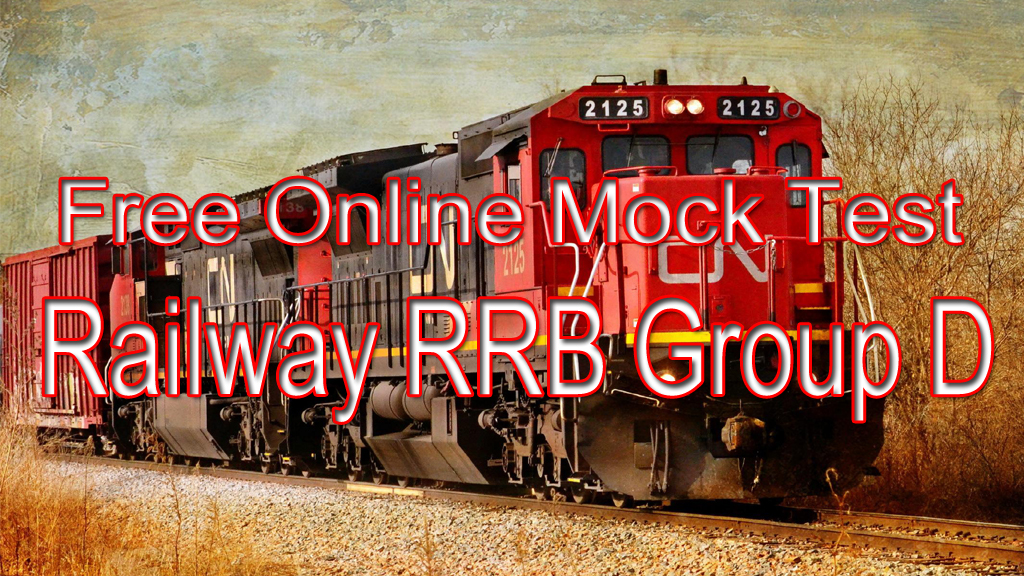 Railway Railway RRB Group D Free Online Mock Test